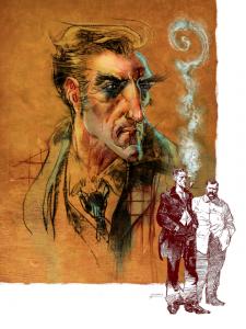 Liam Sharp and Bill Sienkiewica's take on Arthur Conan Doyle's classic detective