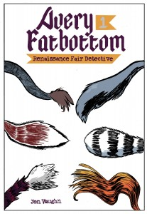 Avery Fatbottom 01 cover (Monkeybrain Comics)
