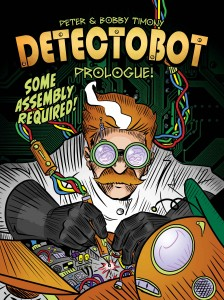 Detectobot 00 cover (Monkeybrain Comics)