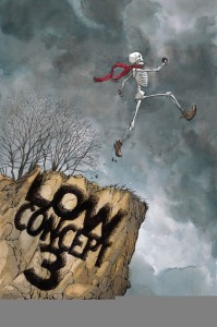 Low concept 3-11 o'clock comics community anthology from King Bone Press