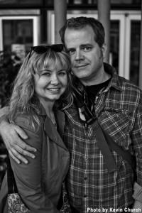 MonkeyBrain founders Chris Roberson and Allison Baker