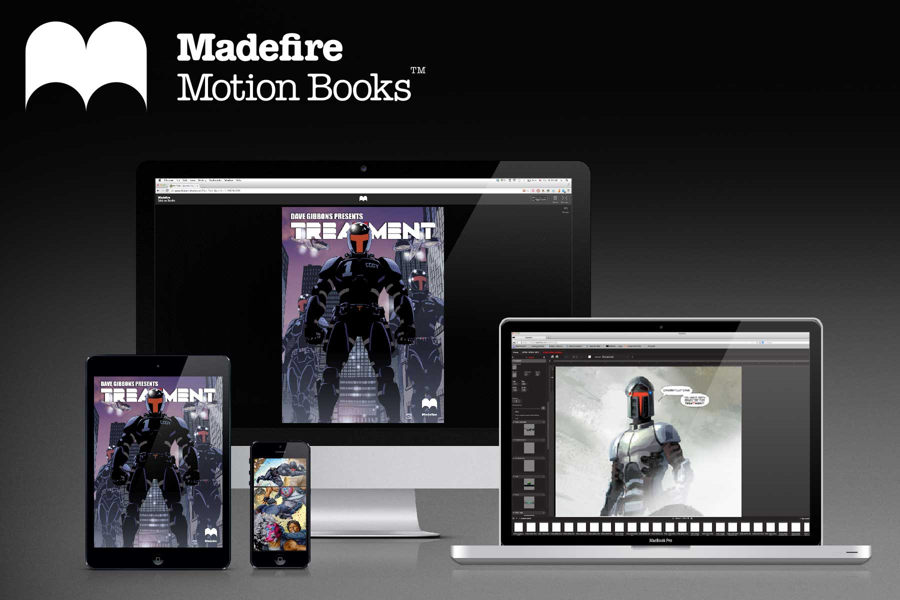 Madefire Motion Books