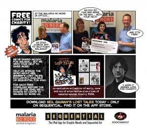 Neil Gaiman's Lost Tales donation