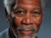 Morgan Freeman painting Kyle Lambert