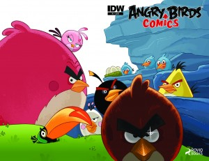 Angry Birds from IDW Publishing