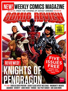 Comics Review is a new weekly digital comics magazine from the makers of SFX and Comic Heroies