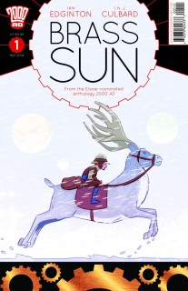 Brass Sun #1 cover