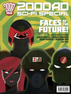 2000 AD Sci-Fi Special cover