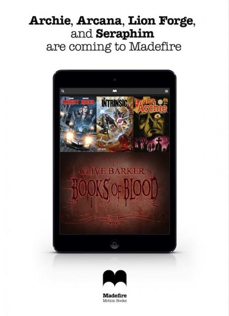 Madefire new publishers