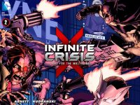 Infinite Crisis #1 cover Madefire