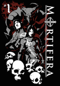 Mortifera comic app #1 cover