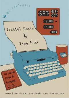 Bristol Comic and Zine Fair 2014