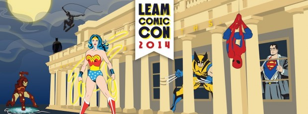 Leamington Comic Convention brochure