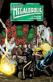 Leaving Megalopolis cover