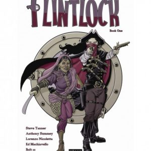 FLINTLOCK#1 PREVIEW cover