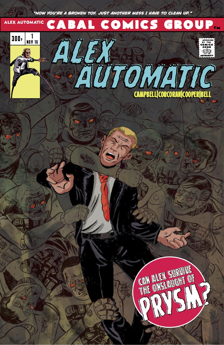 Fraser Campbell on bring Alex Automatic to life