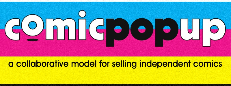 Comic Pop Up Banner