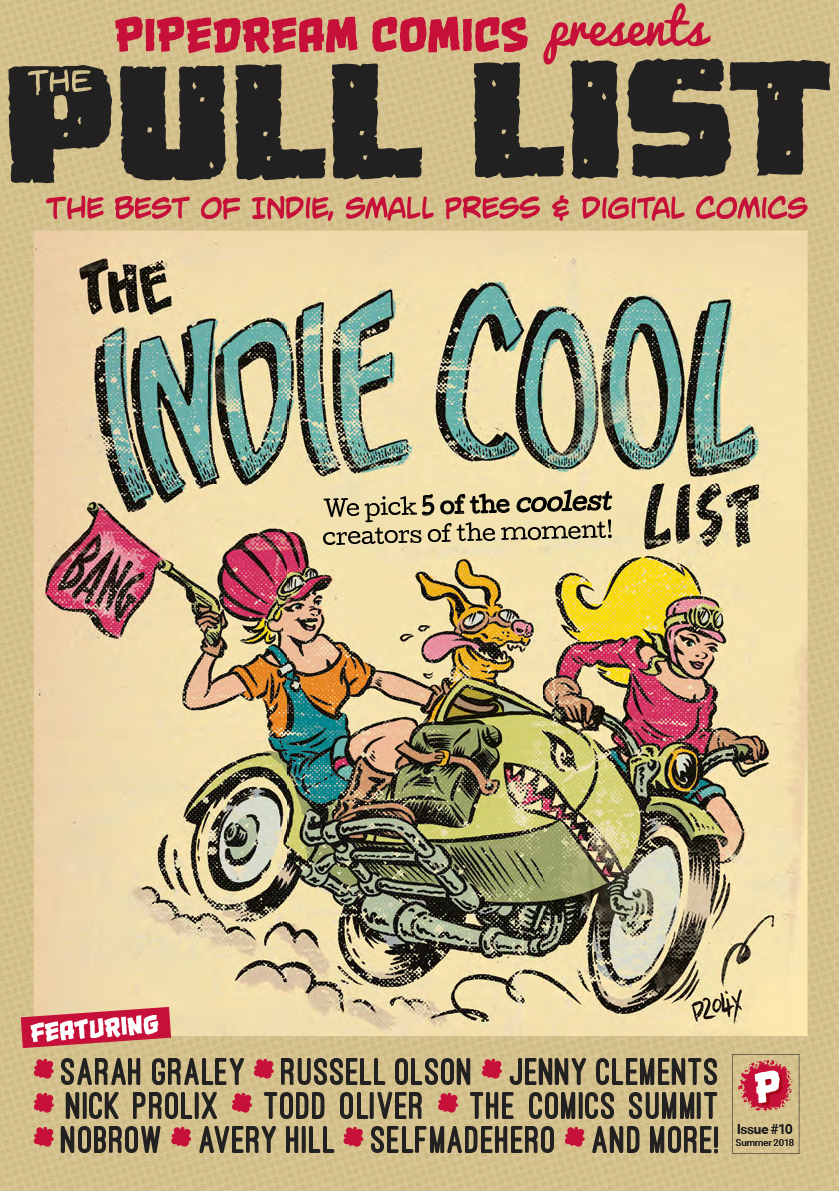 The Pull List #10 – The Indie Cool List 2018 – Now Available