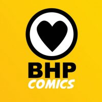 BHP Comics Logo Vertical