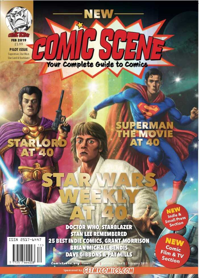 ComicScene volume 2 issue #0 now available