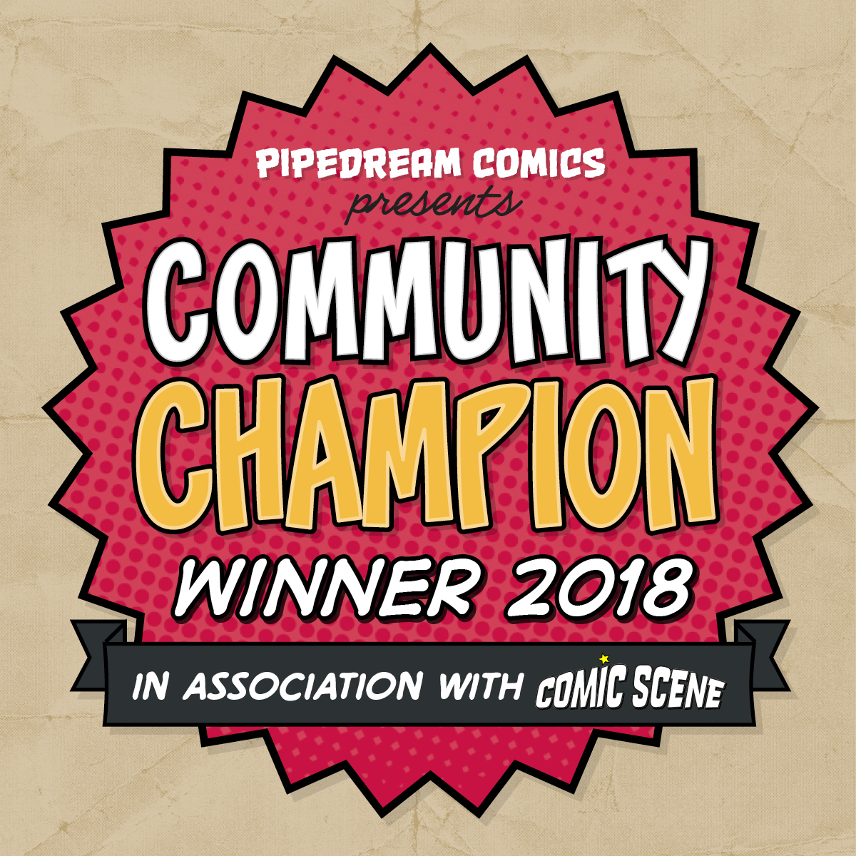 Community Champion 2018 logo