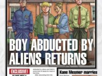 Boy Abducted By Aliens cover