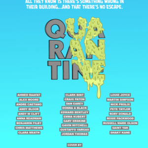 Quarantine Comic cover