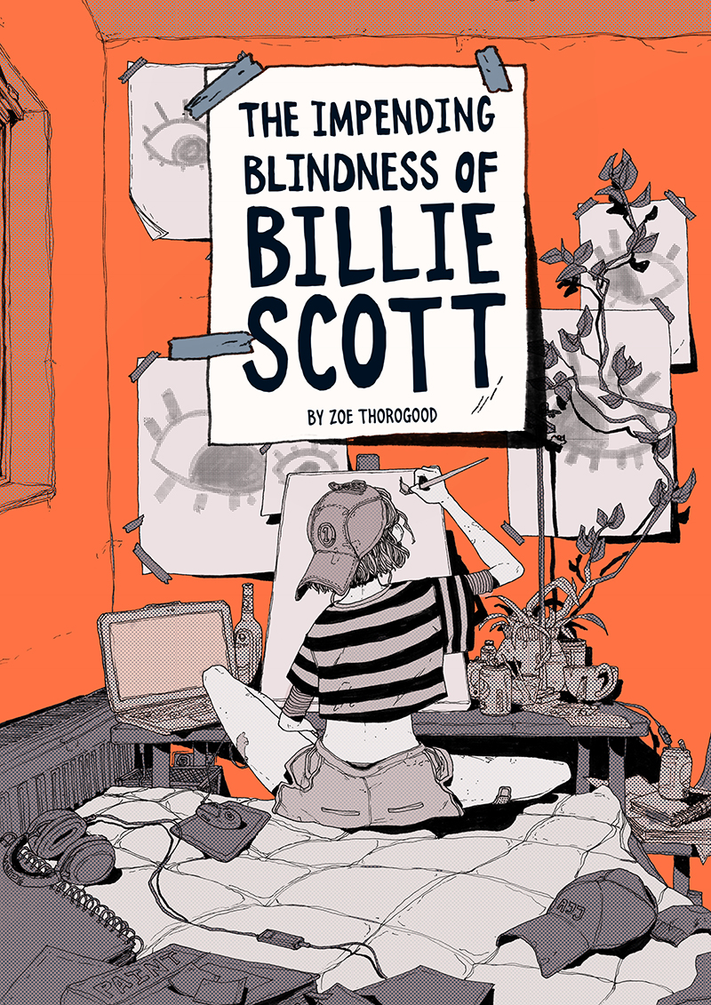 The Impending Blindness of Billie Scott cover