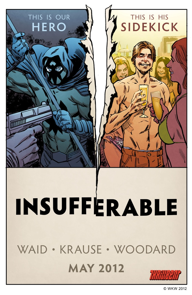 """This has blurred the distinction between writer and artist"" Peter Krause on new digital comic Insufferable and Thrillbent.com"