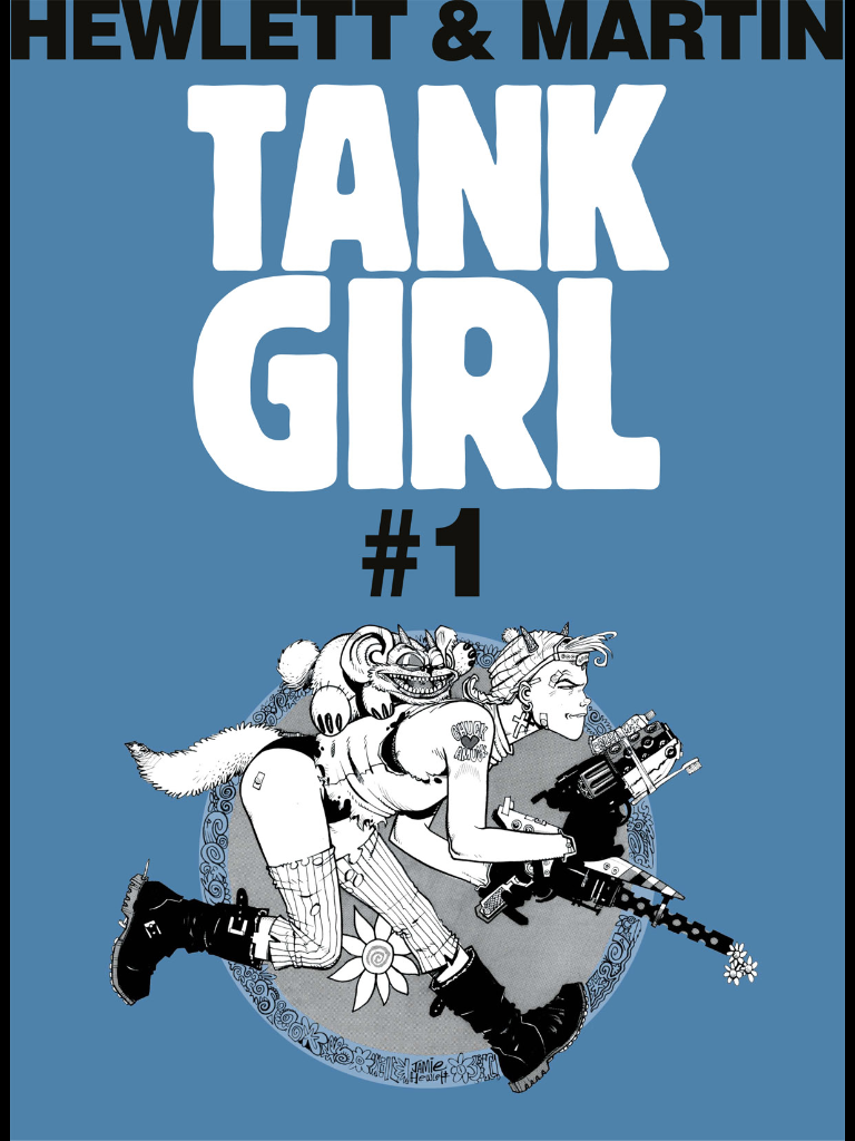 Pipedream Pull List: Tank Girl Classics #1-5