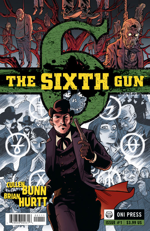 Ghosts, gun slingers and the new frontier of digital comics. The Sixth Gun writer Cullen Bunn talks about it's success on the iPad