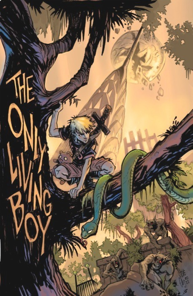 """We want to create stories that power the imagination"" Steve Ellis and David Gallaher discuss their new pulp adventure The Only Living Boy"