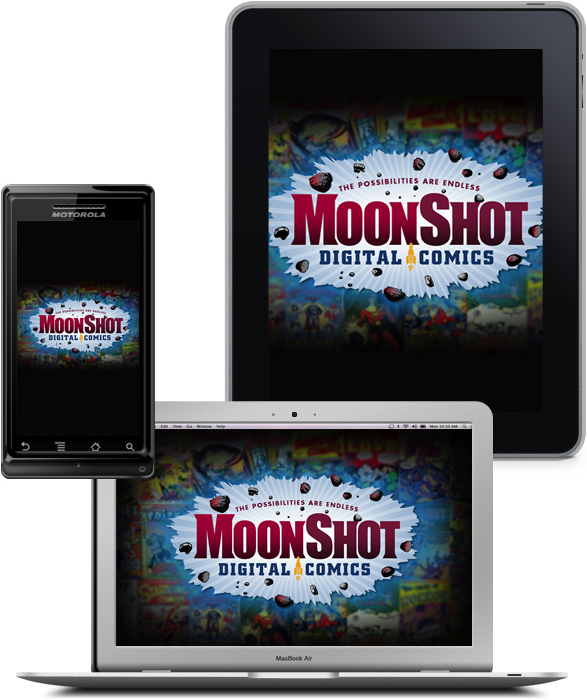 MoonShot Comics coming soon to your iPad, PC or tablet