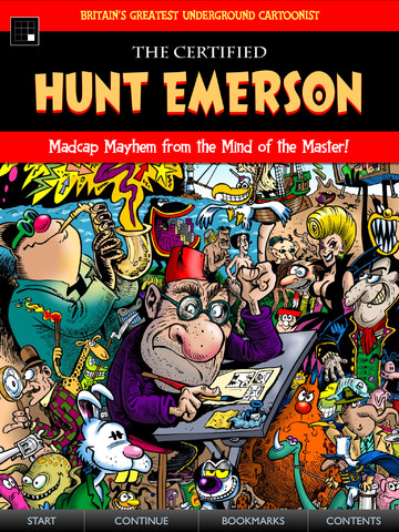 The Certified Hunt Emerson app from Panel Nine